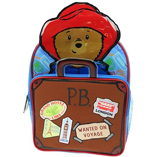 paddington-bear-zainetto-per-bambini-padd001002-marrone-100-liters