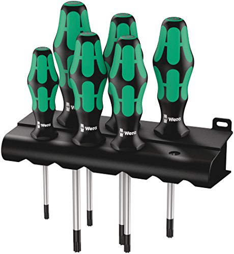 Wera 367/6 Schraubendrehersatz Kraftform Plus TORX® + Rack, 6-teilig, 05028062001