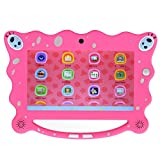 Zedo Kids Tablet PC 7 Inch Android 7.1 Display 1GB RAM 8 GB ROM Tablet Dual 0.3MP Camera Kid-Proof Silicone Case Kickstand Available With iWawa For Kids Education Entertainment (PINK)
