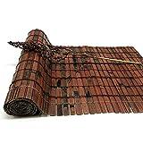 JIANFEI-Tenda di bambù Tenda A Rullo Controllo degli Insetti Decorazione Domestica Protezione Solare, 3 Colori, 23 Taglie Personalizzabile (Colore : 1#, Dimensioni : 100x220cm)