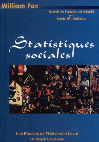 Statistiques sociales