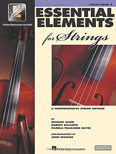 Essential Elements 2000 for Strings - Book 2 Violon +Enregistrements Online
