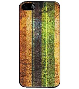 PrintDhaba Pattern D-5296 Back Case Cover for APPLE IPHONE 5 (Multi-Coloured)