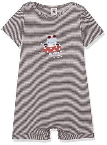 Petit Bateau Baby-Jungen Lot Badabo Spieler, Mehrfarbig (Smoking/Marshmallow 02), 92 (Herstellergröße: 24M/86cm)