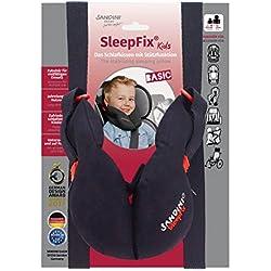 SANDINI SleepFix® Kids BASIC – Kinder Schlafkissen mit Stützfunktion – Kindersitz-Zubehör als BASIC Version für Auto/Fahrrad/ Reise – Verhindert das Abkippen des Kopfes im Schlaf