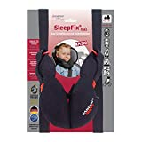 SANDINI SleepFix® Kids BASIC - Child neck pillow/ Neck cushion/ Sleeping pillow for kids with support function - Child seat accessory as BASIC version for car/ bike/ travel - Designed in Germany/ Made