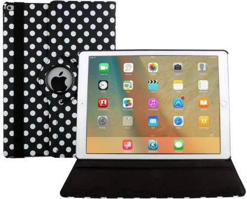 hülle, Dream Flügel 360Grad drehbar Multi Winkel Colorful Bildschirm Schutz FLIP Folio Stand Smart Schutzhülle für Apple iPad Pro, 24,6cm Tablet Casual iPad Air schwarz ()