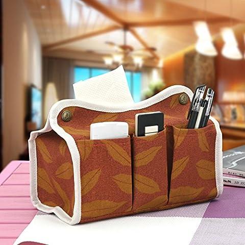 CLG-FLY BOX di tessuto di tessuto assorbente sul coperchio della scatola di creative Continental Automotive test impermeabile vassoio desktop camera,Red gold