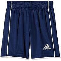 adidas CORE18 Sw Pantalón Corto, Unisex Niños, Azul (Dark Blue)/Blanco, 116 (5/6 Años)