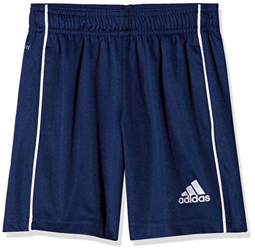 adidas Kinder Core 18 Shorts, Dark Blue/White, 116
