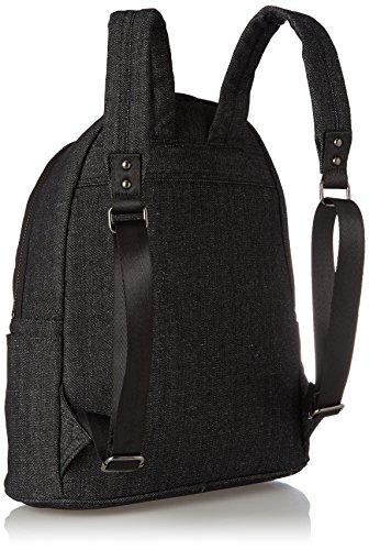 Superdry Pacific Herren Rucksack Schwarz Nero (Washed Black)