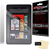 TECHGEAR® [PACK OF 5] Amazon Kindle Fire 7.0 inch (2nd Gen/2012 Edition) CLEAR LCD Screen Protectors - NOT FOR ANY KINDLE FIRE HD OR HDX TABLETS