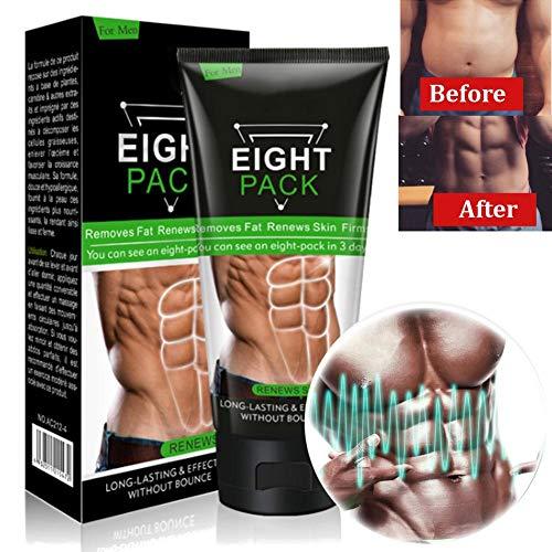 Gewichtsverlustcreme, Fettverbrennung, perfekt ausgebildete Hüften und Bauch, straffende Muscle Cream, perfekte Größe formen, Unisex