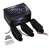 yibuy schwarz single-Coil Tonabnehmer für Gitarre Ersatzteile Set von 3