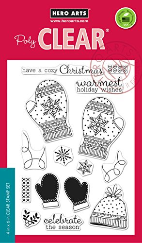 NEW! Hero Arts Clear Stamps 4