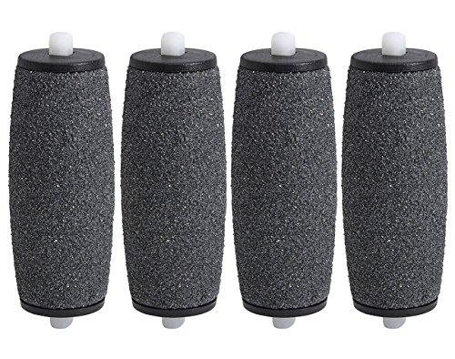4 x Rouleaux Ponceurs Micro-Minéraux de Remplacement pour Scholl Velvet Smooth