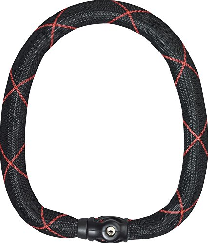 ABUS 525285   9100/85_BLACK CADENA CON CIERRE AUTOMATICO IVY