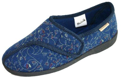 Dunlop, Pantofole donna Blu (Blu)