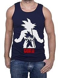 GIOVANI & RICCHI Herren Super Son Goku Tank Top Fitness Shirt in verschiedenen Farben
