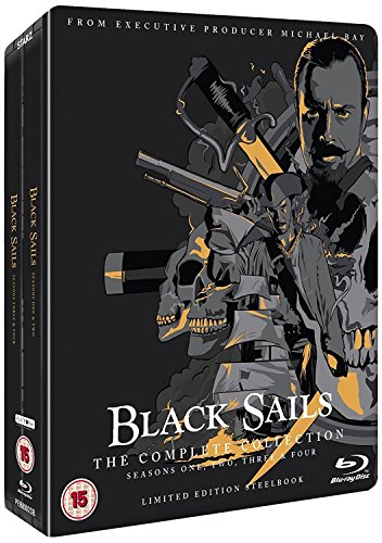 Black Sails: The Complete Collection (Seasons 1-4) [Steelbook] [Blu-ray] [UK Import]