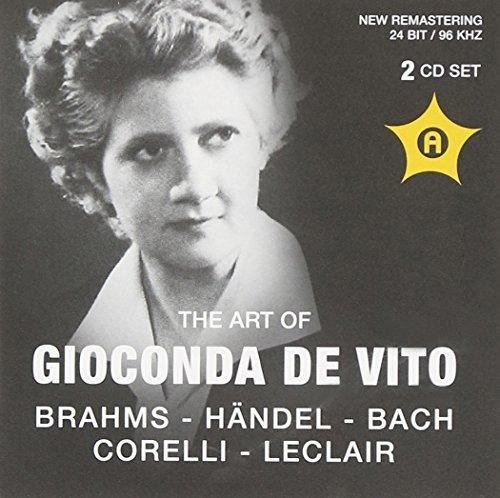 Gioconda Da Vito Violine: Brahms-Händel-