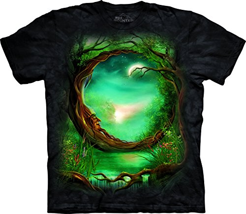 The Mountain Moon Tree - Schwarz - XX-Large -