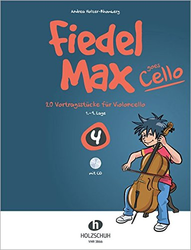 Fiedel-Max goes Cello Band 4 mit CD
