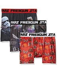 Star Wars Herren Boxershorts Starwars Freegun Boxer Pack X3, 3