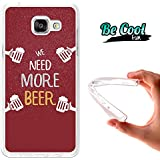 BeCool® Fun - Coque Etui Housse en GEL Flex Silicone TPU Samsung Galaxy A5 2016 , protège et s'adapte a la perfection a ton Smartphone et avec notre design exclusif.Une autre bière