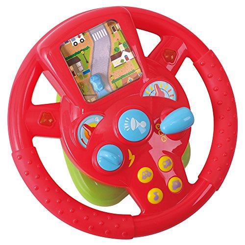 Playgo–Volant électrique avec son & lumière (COLORBABY 42511)