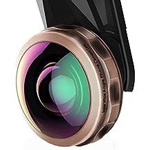 VicTsing 238 ° Handy Kamera Objektiv-Kits, Super Weitwinkel Objektiv für iPhone, Samsung, Galaxy, HTC und andere Smartphones