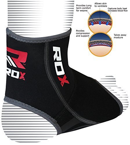 RDX Knöchelbandage Knöchelschutz Fußbandage Fußgelenkbandagen MMA