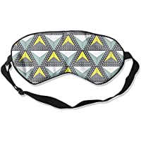 Comfortable Sleep Eyes Masks Geometric Figure Printed Sleeping Mask For Travelling, Night Noon Nap, Mediation... preisvergleich bei billige-tabletten.eu