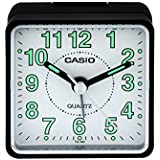 Casio Analog Table Clock (5.7 cm x 5.7 cm x 3.3 cm, TQ-140-1BDF)