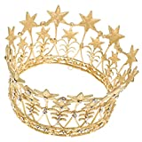 Generic Vintage Gold Star Crystal King Q...