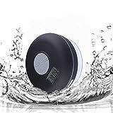 Dusche Lautsprecher Kabellos in Rissen Tatton, hromen Bluetooth-Lautsprecher mit Wasserdicht IPX7+ FM Radio + 2600mAh + NFC, Eine Nacht Licht