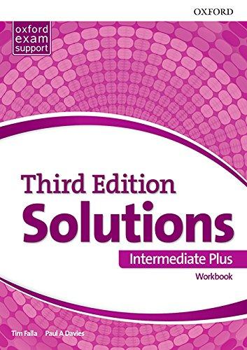 SOLUTIONS INT PLUS WB 3ED - 9780194523684 (Solutions Third Edition) por Tim Falla