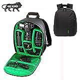 Brain Freezer J DSLR SLR Camera Lens Shoulder Backpack Case for Canon Nikon Sigma Olympus Camera Green