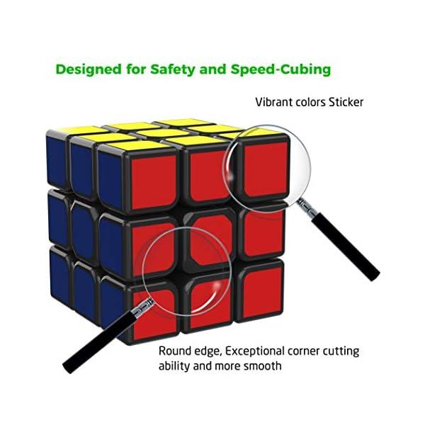 511CsCYiixL. SS600  - SPLAKS Zauberwürfel 3x3x3 magische Würfel original Speed Cube mit einstellbar Dreheigenschaften für Cornercutting Speed-Cubing