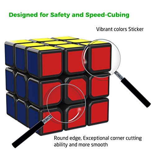 511CsCYiixL - SPLAKS Zauberwürfel 3x3x3 magische Würfel original Speed Cube mit einstellbar Dreheigenschaften für Cornercutting Speed-Cubing