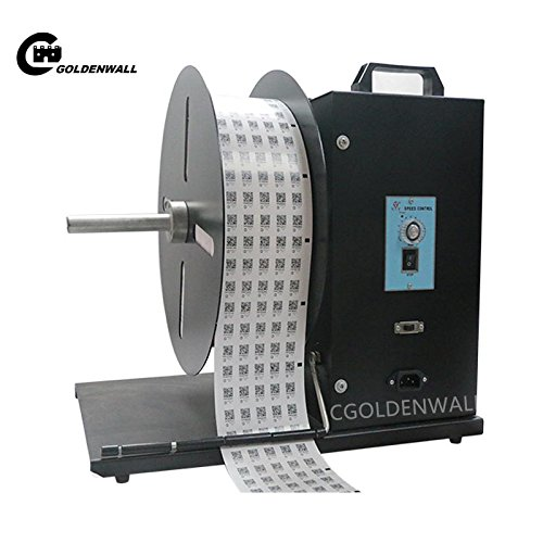 cgoldenwall BSC U9?Automatische Label Rewinder Aufkleber Maschine Speed Verstellbarer Zweiwege-Tag Bar Code Wasser Mark rewindering Maschine mit Maximale Breite von 210?mm 220?240?V