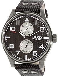 Hugo Boss Herren-Armbanduhr Analog Quarz Textil 1513086