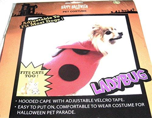 Happy Halloween Halloween Pet Kostüm-Marienkäfer (Pet Marienkäfer Kostüm)