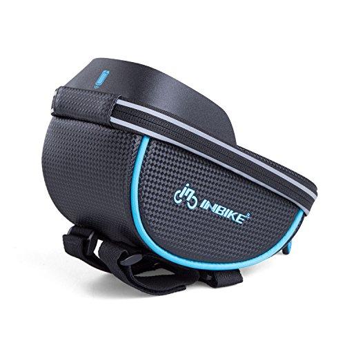 Inbike Fahrradtasche für Fahrrad mit Handyhalterung schwarz-2 5.7