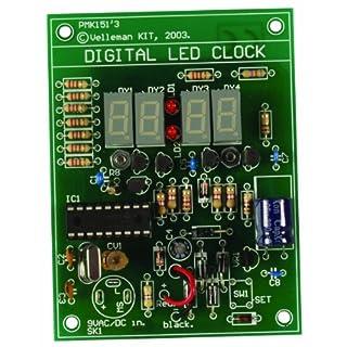 VELLEMAN - MK151 digitale LED-Uhr, Mini-Kit 840316