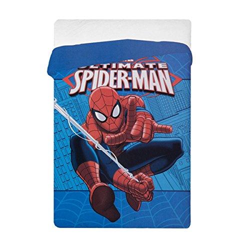 Trapunta spiderman marvel ultimate invernale singola una piazza n780