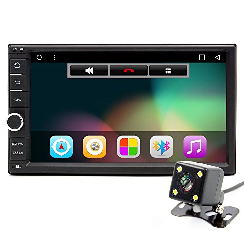 'junsun 2 DIN Android Auto 6.0 DVD-Player DVD 7 1024 * 600 Universal GPS Navigation BT Autoradio Audio-Player Stereo