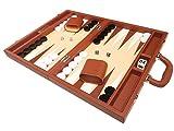 Set Backgammon Premium 40 x 53 cm - Desert Brown