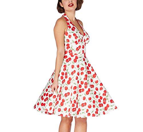 Voodoo Vixen Kleid SYBLL DRESS 2425 Weiß L
