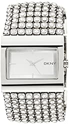 DKNY End of Season Analog Silver Dial Womens Watch - NY4661I